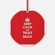 Trust Silvia Ornament (Round)