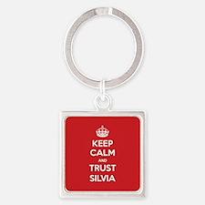 Trust Silvia Keychains