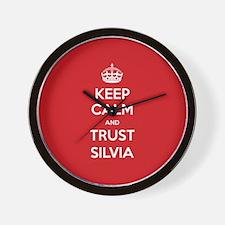 Trust Silvia Wall Clock