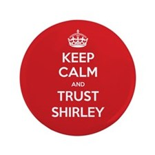 """Trust Shirley 3.5"""" Button (100 pack)"""