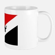 Sealand flag with Sealand  Mug