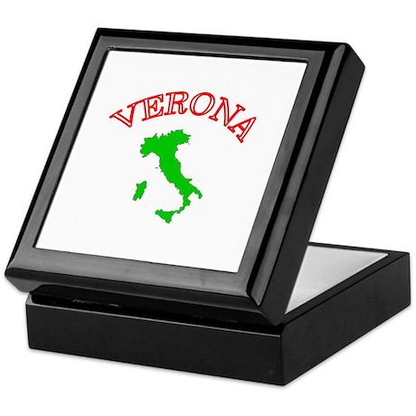 Verona, Italy Keepsake Box