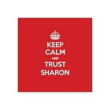 Trust Sharon Sticker