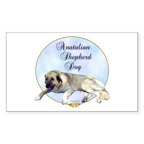 Anatolian Portrait Rectangle Sticker