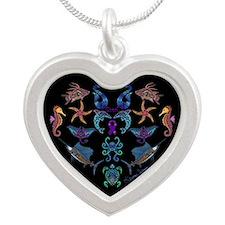 Cheri's Ocean Treasures Silver Heart Necklace