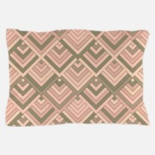 shaped memory of the 60s peach Pillow Case
