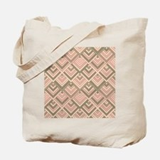 shaped memory of the 60s peach Tote Bag