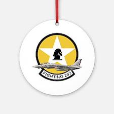 VF-202 Superheats Ornament (Round)