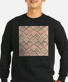 shaped memory of the 60s peach Long Sleeve T-Shirt