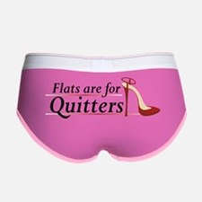 Flats are for Quitters Women's Boy Brief