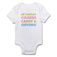 Cookies Candy Infant Bodysuit