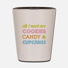 Cookies Candy Shot Glass