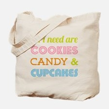 Cookies Candy Tote Bag