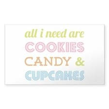 Cookies Candy Decal