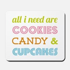 Cookies Candy Mousepad