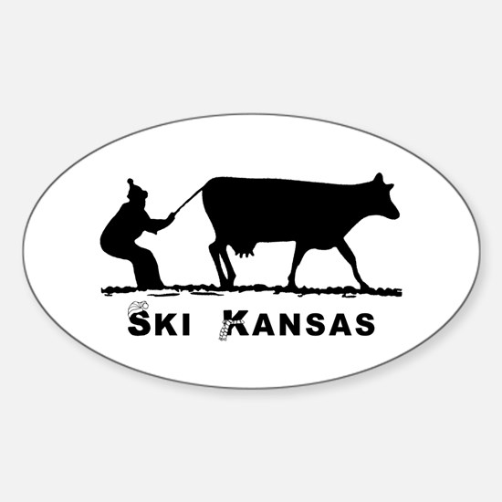 Ski Kansas Decal