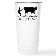 Ski Kansas Travel Mug