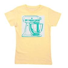 Retro Aqua Mixer Girl's Tee