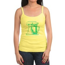 Retro Aqua Mixer Ladies Top