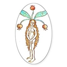 Mandrake Woman Decal