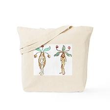 Mandrake Couple Tote Bag