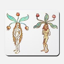 Mandrake Couple Mousepad