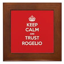 Trust Rogelio Framed Tile