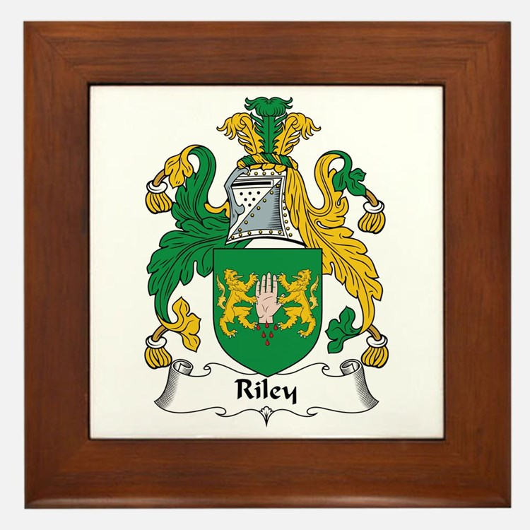 Riley Framed Tile