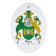 Riley Oval Ornament