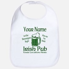 Custom Irish pub Bib