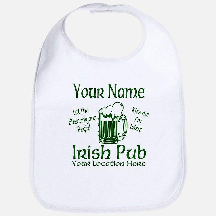 Custom Irish pub Bib