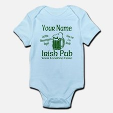 Custom Irish pub Body Suit