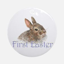First Easter Ornament (round)