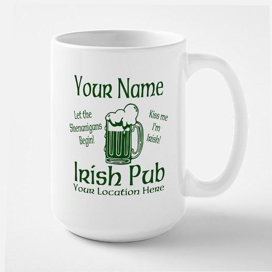 Custom Irish pub Mugs