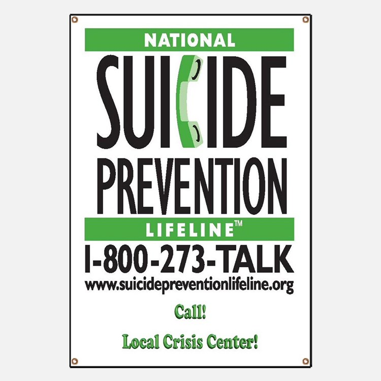 Suicide Prevention Banners Amp Signs Vinyl Banners