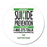 Suicide prevention Car Magnets