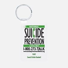 Suicide Awareness Aluminum Photo Keychains