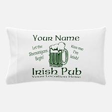 Custom Irish pub Pillow Case