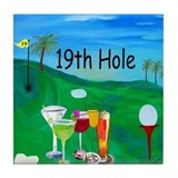 Golf Tile Coasters