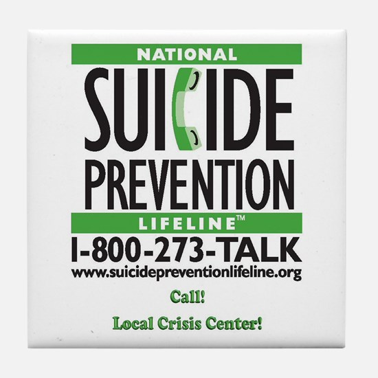 Prevent Suicide! Tile Coaster