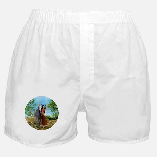 Fairy and Unicorn Boxer Shorts