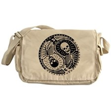 Yin & Bones Messenger Bag