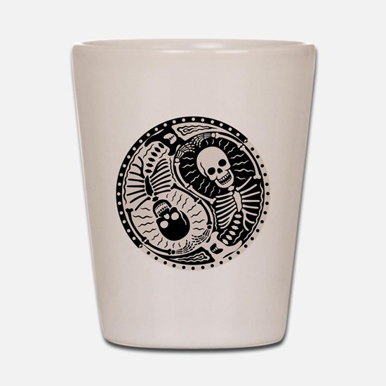 Yin & Bones Shot Glass