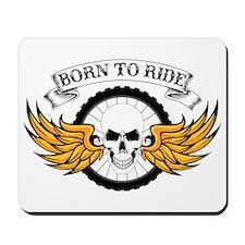 Born To Ride (Mountain Bike) Mousepad