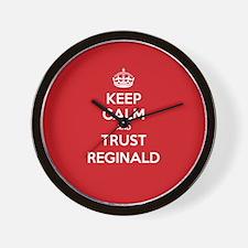 Trust Reginald Wall Clock