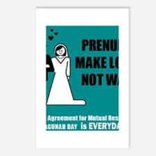 Make Love, Not War Postcards (Package of 8)
