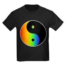 Rainbow Yin Yang T