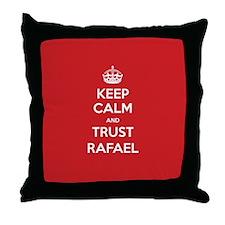 Trust Rafael Throw Pillow