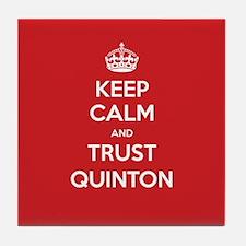 Trust Quinton Tile Coaster