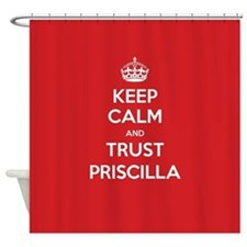 Trust Priscilla Shower Curtain